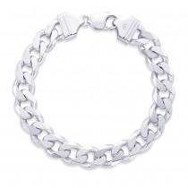 925 Sterling Silver Bracelet For Men Silver-ACDH3006C8HIN JOCACDH3006C8HIN