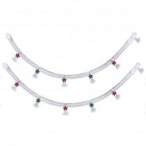 Floral 925 Sterling Silver Anklet For Women JOCAN0848S