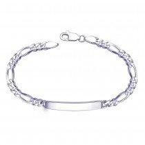 925 Sterling Silver Bracelet For Men Silver-BR0539S JOCBR0539S