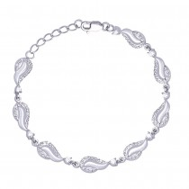 925 Sterling Silver Bracelet For Women Silver-BR0936R JOCBR0936R