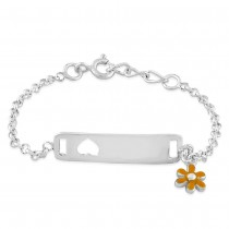 925 Sterling Silver ID bracelet for kids BR1227S JOCBR1227S