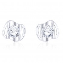 925 Sterling Silver Beautiful CZ Stud Earrings for Women JOCCBER267I-06