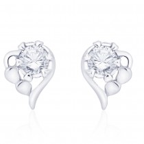 925 Sterling Silver Classic pair of stud earrings Embellished with CZ JOCCBER267I-09