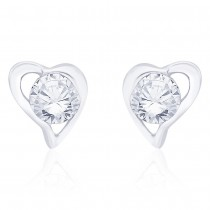 925 Sterling Silver CZ Ethnic Earrings for girls JOCCBER267I-11
