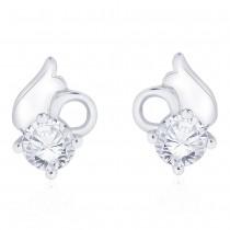 925 sterling silver solataire Stud Earrings for girls JOCCBER267I-12