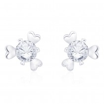 925 sterling silver Floral Stud earrings for her JOCCBER267I-15