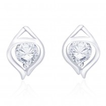 925 sterling silver CZ captivating design earrings for Women JOCCBER267I-16