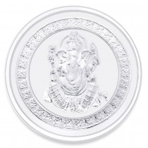 Traditional Ganeshji 999 Purity 5 Gram Silver Coin JOCCOIN-GN5G