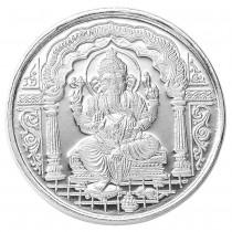 999 Silver Lord Ganeshji & OM 20 Gram Coin JOCCOIN-GNO20G