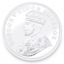 999 Silver Gorge V King Emperor 20 Gram Coin JOCCOIN-GVKS20G