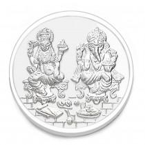 999 Silver 5gm Lakshmiji and Ganeshji Coin JOCCOIN-LXGN5G