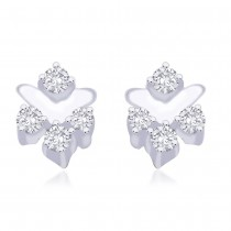 925 Sterling Silver CZ Earrings for Women JOCER2022R