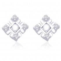 CZ Designer 925 Sterling Silver Stud Earring For Women JOCER2026R
