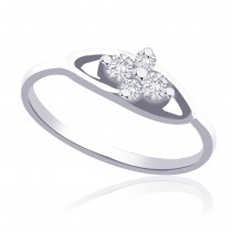 925 Silver CZ Promise Finger Ring For Girl's JOCFR1267R6