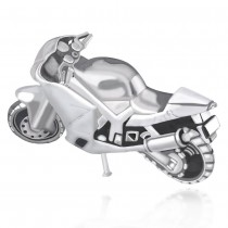 925 Sterling Silver Racing Bike toy for Gift items or Diwali Gift JOCGI1409A