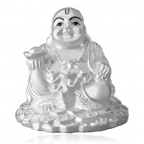 999 silver Laughing Buddha Foaming idol JOCGI1465F