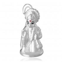 999 Silver Hanuman Foaming idol JOCGI1512F