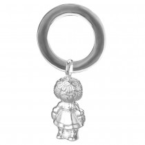 925 Sterling Silver Beautiful Baby Rattles for baby JOCGI1643S