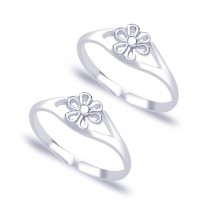 925 Sterling Silver Toe Ring For Women Silver JOCLR0662S