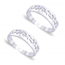 925 Sterling Silver Toe Ring For Women Silver JOCLR0715S