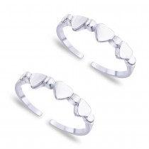 925 Sterling Silver Toe Ring For Women JOCLR0720S