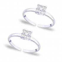 925 Sterling silver CZ Toe Ring for Women JOCLR0762S