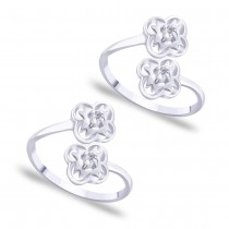 Top Openable CZ Toe Ring for Women JOCLR0812S