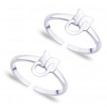 925 Sterling silver Floral toe ring for Women JOCLR0862S