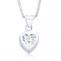 925 Sterling Silver Pendant For Women Silver JOCPD0203S