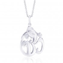 925 Sterling Silver Pendant For Unisex Silver JOCPD0225S