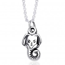 925 Sterling Silver Pendant For Unisex Silver JOCPD1236A