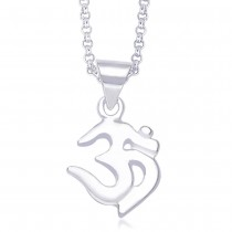 925 Sterling Silver Pendant For Unisex Silver JOCPD0238S