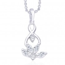 925 Sterling Silver Pendant For Women Silver JOCPD0956R