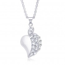 Sterling-Silver Pendant For Women Silver JOCPD1008R