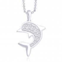 925 Sterling Silver Pendant For Unisex Silver JOCPD1014S