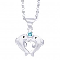 Sterling-Silver Pendant For Unisex Silver JOCPD1016S