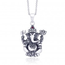 925 Sterling Silver Pendant For Unisex Silver JOCPD1048A