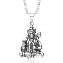 Hanumanji 925 Sterling Silver Pendant For Unisex JOCPD1032A