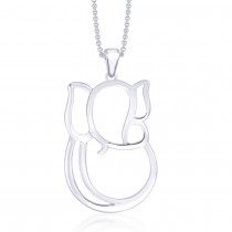 925 Sterling Silver Pendant For Unisex Silver JOCPD0232S