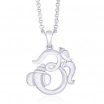 925 Sterling Silver Pendant For Unisex Silver JOCPD1157S