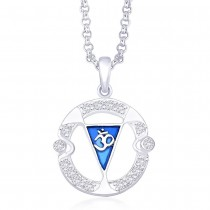 Sterling-Silver Pendant For Unisex Silver JOCPD1161S