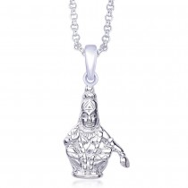 925 Sterling Silver Pendant For Unisex Silver JOCPD1240S