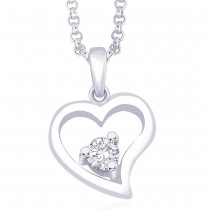925 Sterling Silver Pendant For Women Silver JOCPD1245R