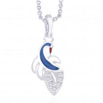 925 Sterling Silver Pendant For Women Silver JOCPD1252R