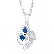 925 Sterling Silver Pendant For Women Silver JOCPD1256R