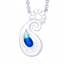 Sterling-Silver Pendant For Women Silver JOCPD1286S