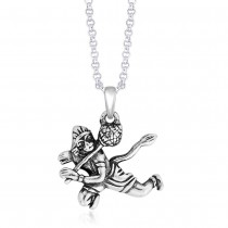 925 Sterling Silver Pendant For Unisex Silver JOCPD1439A