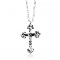 Pendant of Holly Cross 925 Sterling Silver For Unisex JOCPD1473A