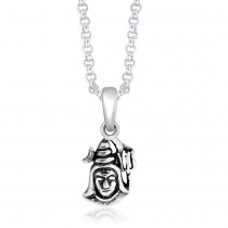 925 Sterling Silver Pendant For Unisex Silver JOCPD1593A