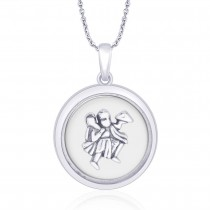 925 Sterling Silver Hanumaj Ji Pendant For Men JOCPD1634A